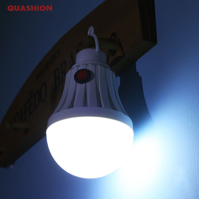 Multifunction USB Rechargeable Portable LED Lamp Bulb Emergency lamp with Switch and hook up Outdoor Camp Climbing Lighting usb rechargeable portable led lamp bulb emergency light with switch high quality
