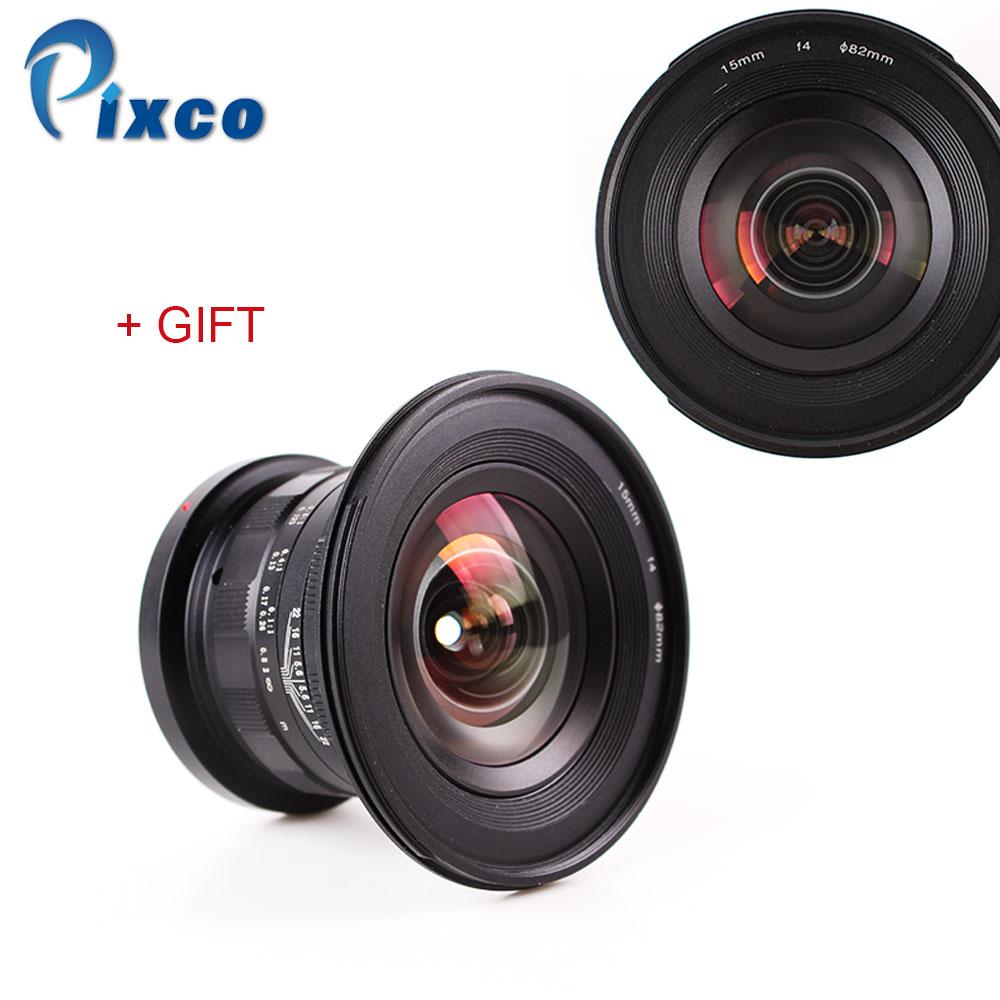 15mm f / 4 f / 4.0 F4 Ultragroothoeklens voor Nikon Canon digitale - Camera en foto