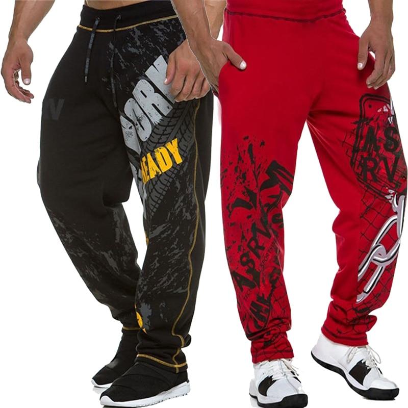 Mens Joggers Casual Pants Fitness Men Sportswear Tracksuit Bottoms Hip hop Sweatpants Gyms Jogger men Pants Exercise trousers