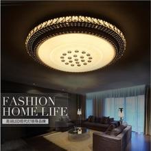 Ecolight Modern Led Ceiling Light Crystal Flush Mounted Metal Acrylic Led Light for Living Bed Room