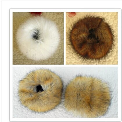 Free Shipping Thickening Fur  Sets Of Bracelet Wrist Cuff Wrist Imitation Rabbit Hair Hand Ring Sleeve  Imitation Fur Sleeves