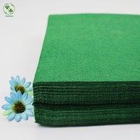 Non Woven Felt Dark Green Pure Color Cloth Felts Sheet 30X30CM Handmade Sewing Christmas Manual Work