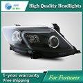 Caso de alta qualidade Car styling para Toyota Fortuner Faróis LED Farol DRL Lente HID de Feixe Duplo Xenon