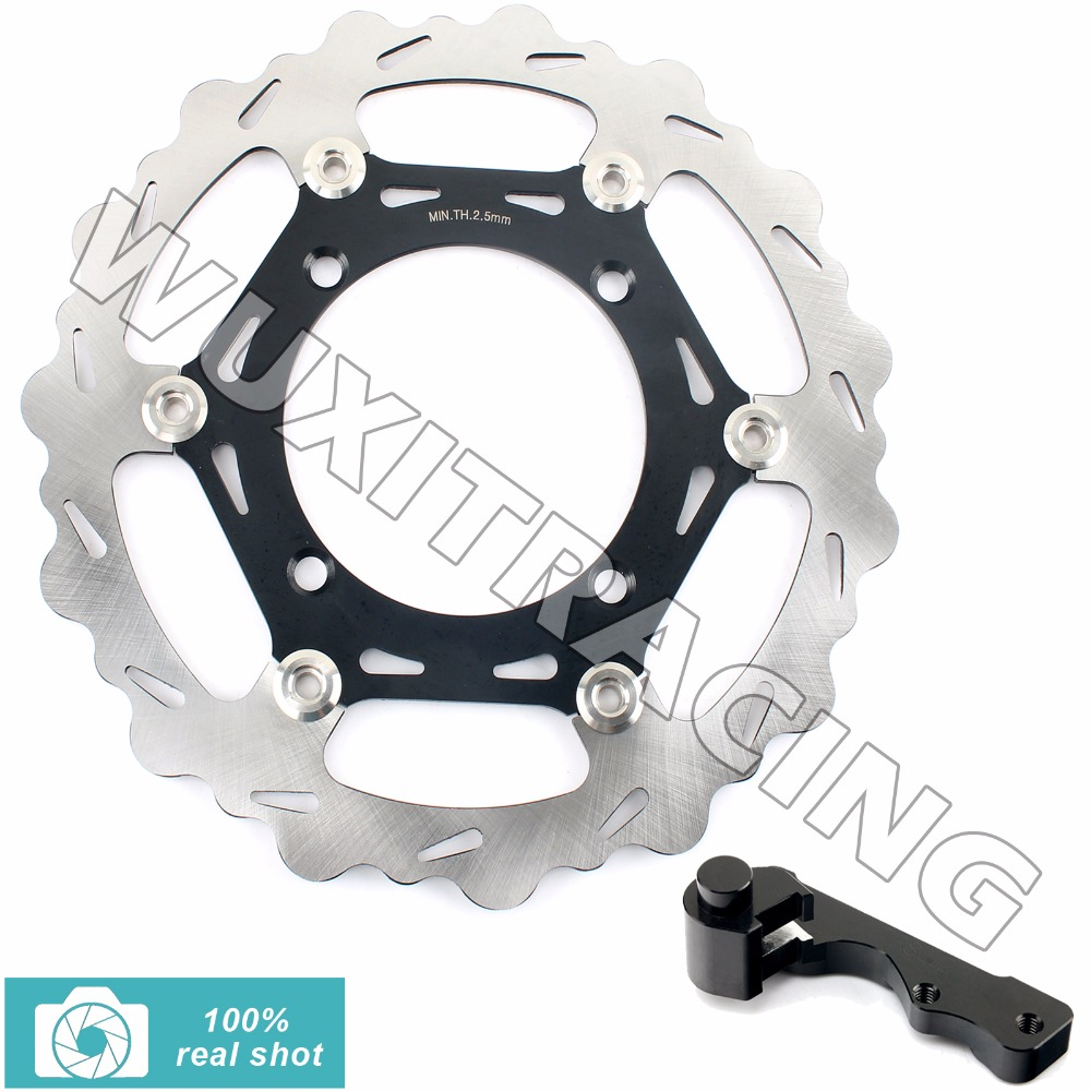 Oversize 270MM Front Brake Disc Rotor Bracket Adaptor for KAWASAKI KX 125 250 06-08 KX F 250 450 06-15 KLX R 450 07-14 09 10 11
