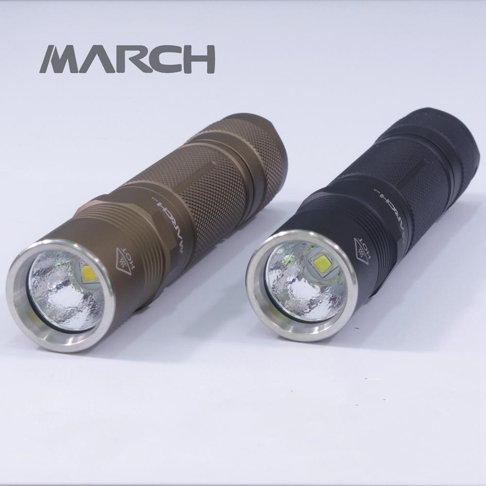 March K3 Luminus SST20 <font><b>Cree</b></font> <font><b>XML2</b></font> Aluminum Alloy <font><b>Flashlights</b></font> Climbing Hiking Travel Searching LED 18650 <font><b>Flashlight</b></font> image