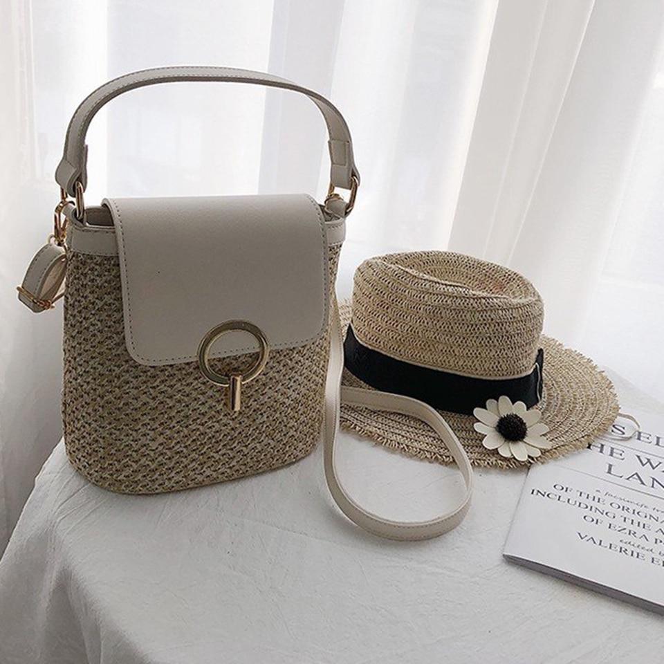 Straw Bucket Bag (9)