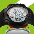 Sanda mens led digital reloj militar hombres deportes relojes 3atm natación escalada moda al aire libre de los hombres ocasionales de pulsera reloj de hombre