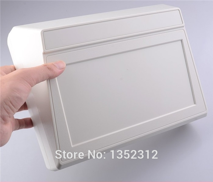 2 pcs/lot 275*204*97mm IP55 waterproof plastic enclosure for electronic ABS DIY instrument box electronic junction case