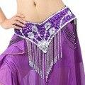Correa de cadena del vientre de la danza ropa accesorios cadena del vientre Multi-color f002 Cummerbund joya