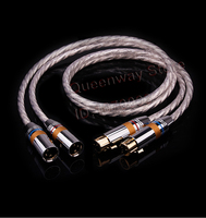 HIFI balance cable XLR male and female cable HIFI speaker canon cable microphone cable male to female CD amplifier cano