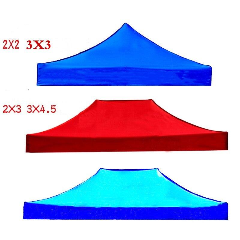 Fiesta impermeable Gazebos top techo arden dosel exterior marquesina toldo carpa sombra Ogrodowy blanco grande cobertizo plegable Azul Rojo coche