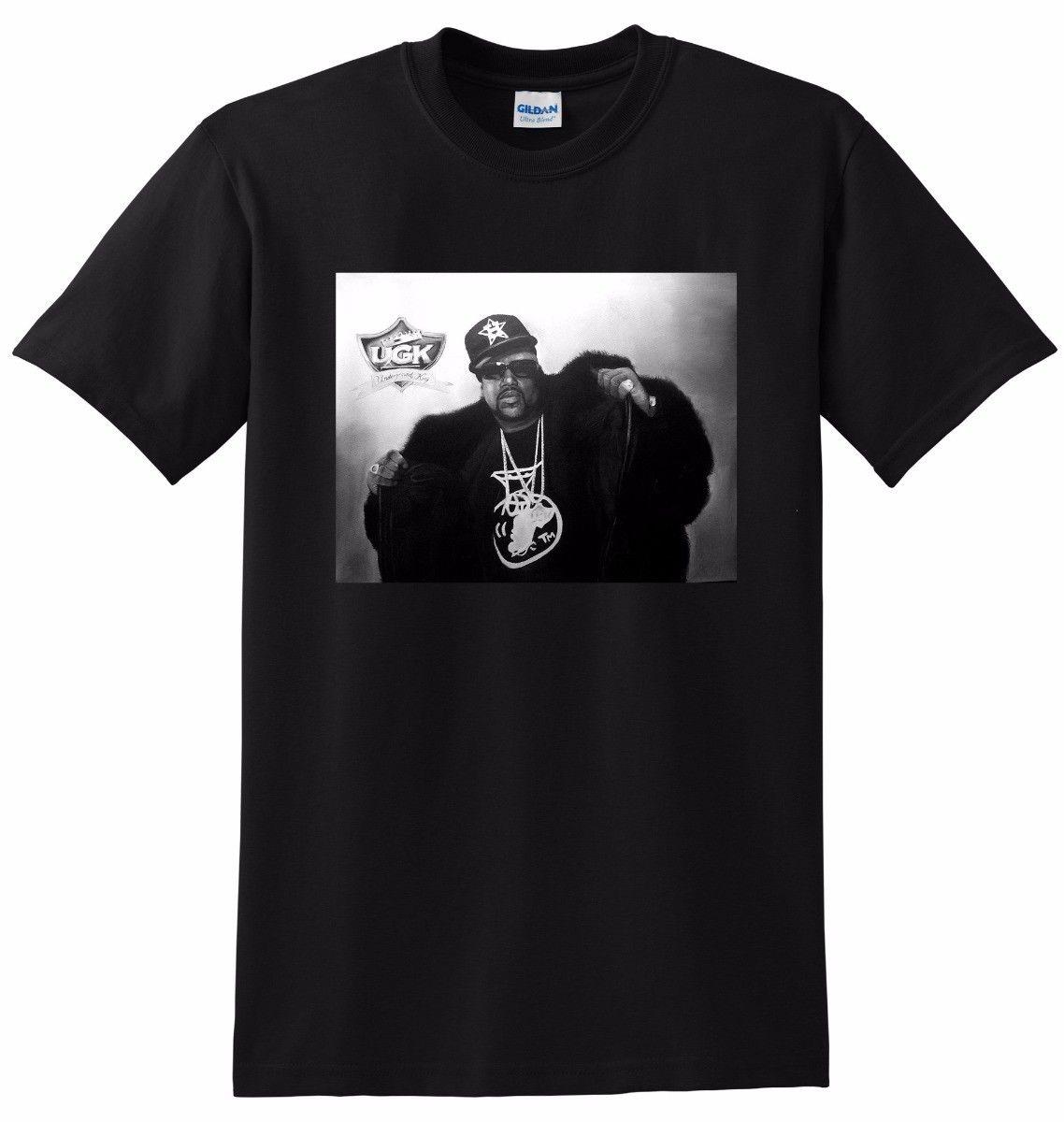 Pimp C футболка Rip УГК хип-хоп Легенда маленький средний большой или Xl