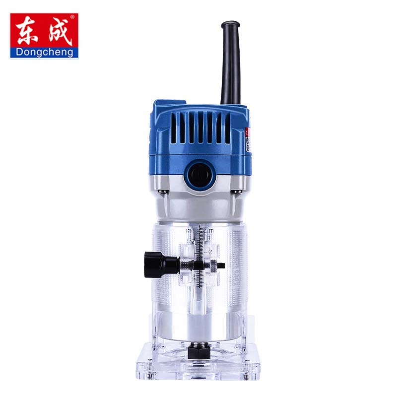 Router Trimmer 350W/530W/550W Durable Small Copper Motor Carving Machine 1/4'' Chuck Electric Woodworking Trimmer Power Tool fivepears 1850w electric router 6mm 8mm 12mm woodworking trimmer router trimmer slot machine gift 1 2 3 8 1 4 collet chuck