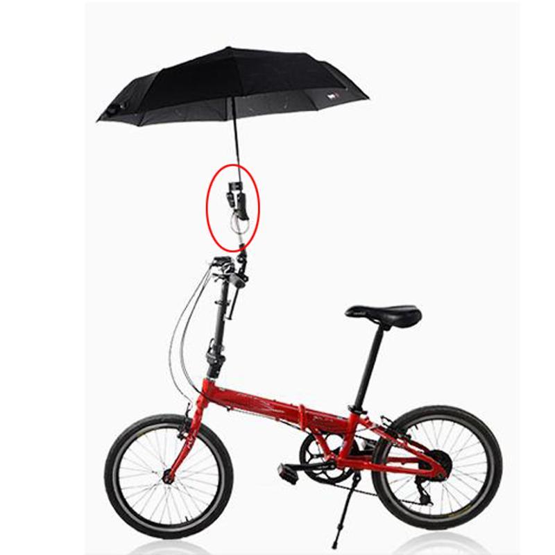 Wheelchair Bicycle Bike Pram Swivel Umbrella Connector Stroller Holder Any Angle