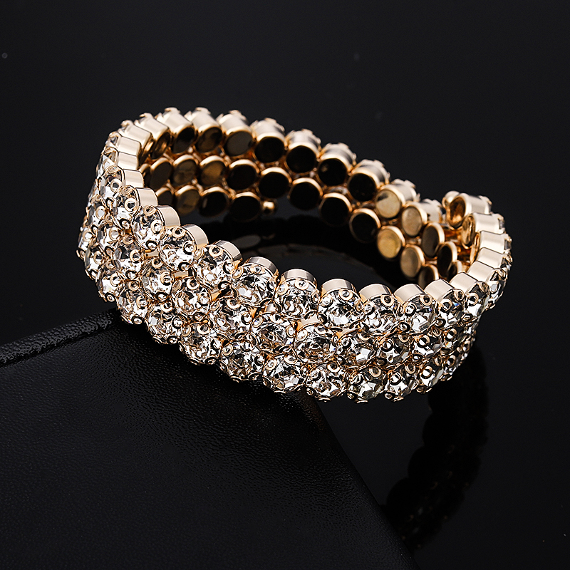 2019-Luxury-Women-Multi-Layers-Crystal-Rhinestone-Bracelets-Bangles-Gold-Color-Adjustable-Wedding-Pulseras-Jewelry-Gifts (2)