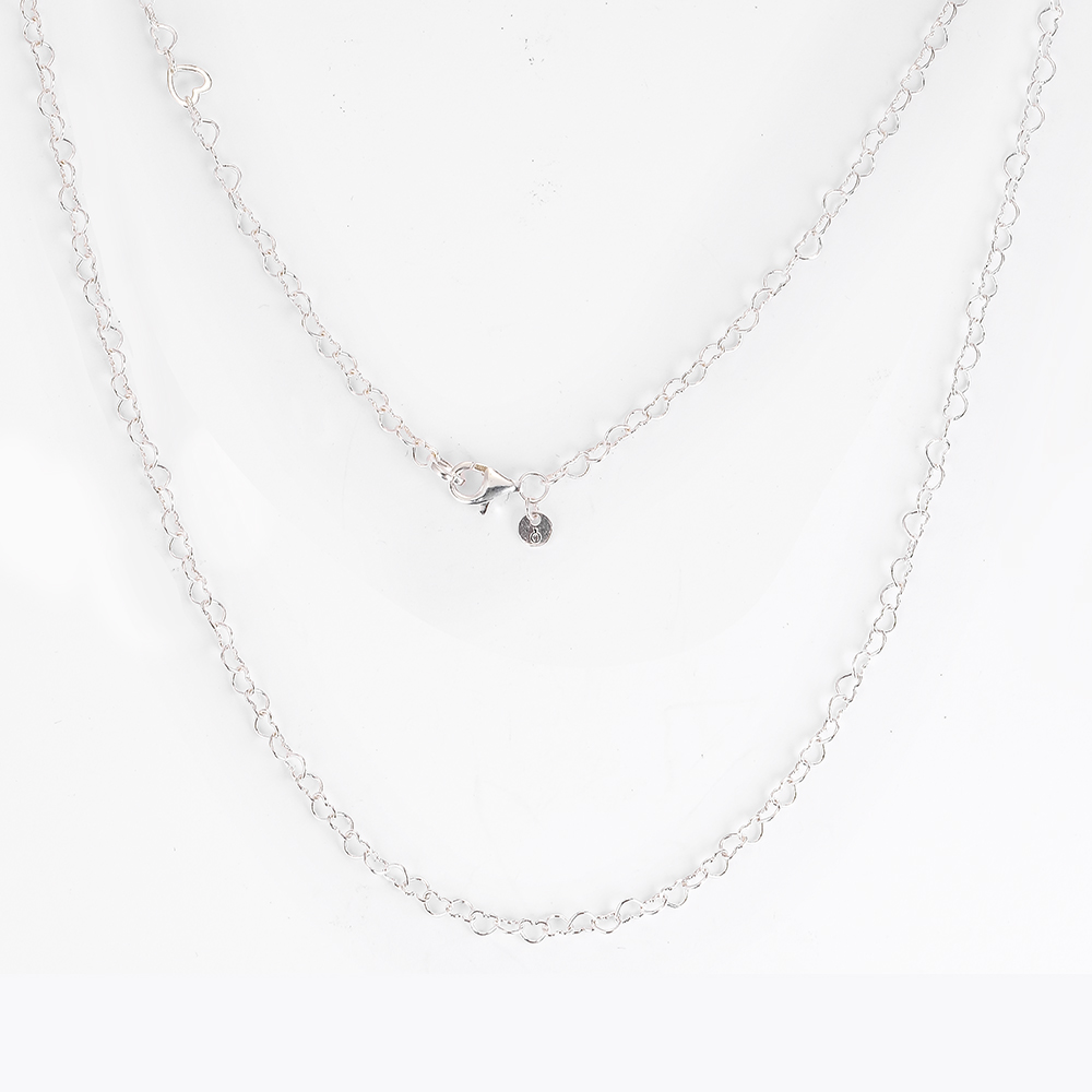 3d7fcb323170 CKK se unió a corazones collar Kolye gargantilla joyería de las mujeres  Collares de moda Cadena de plata de ley 925 Colar bijoux Femme Collier ...