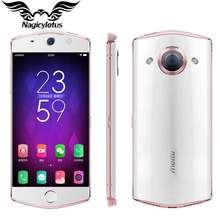Оригинальный meitu M6 4 г LTE мобильный телефон 3 ГБ Оперативная память 64 ГБ Встроенная память 5.0 дюймов MT6755 Octa Core 2.0 ГГц 21MP Камера Android 6.0 2900 мАч
