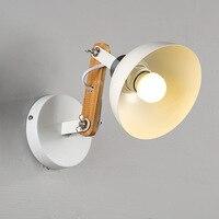 A1 lâmpada de parede quarto cabeceira nova a simplicidade moderna americano criativo interior capa da lâmpada led mz15