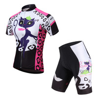 Ropa Ciclismo Cycling Jersey Sets Women Sports Suit Padded Short Sets Cycling Clothing Short Sleeve Cycling