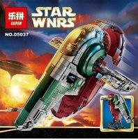 LEPIN 05037 Star Wars Series Slave One Model 2067pcs Building Block Bricks Toys Kits Compatible Legoed