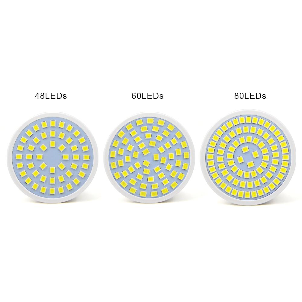 1Pcs High Power 5W 7W 9W LED Spotlight GU10 MR16 E27 GU5.3 LED lamp AC 220V SMD 2835 LED Bulb For Kitchen Down light & lighting