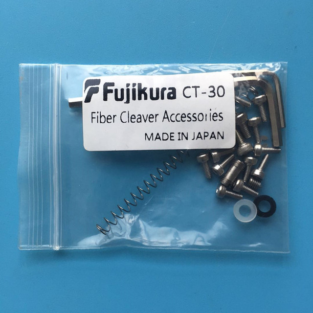 Free Shipping complete set of all screws spare parts for   CT 30 CT 30A Fiber Optical Cleaver