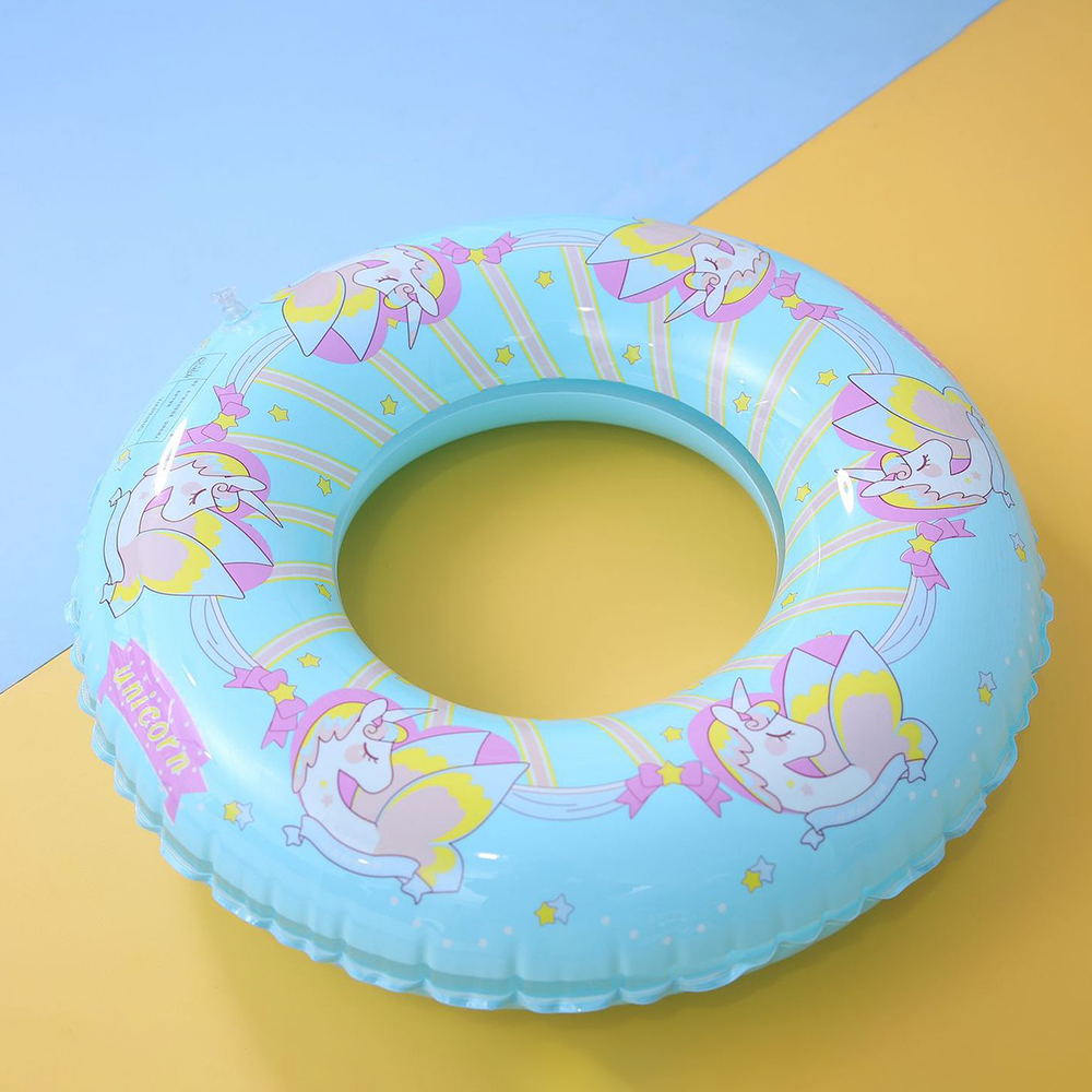 Inflatable Kids Unicorn Swimming Ring Pool Float Circle For Adult Children Swimming Water Sports Beach Water Family Party