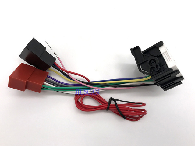 iso standard car radio audio wire harness cable accessories for rh aliexpress com  standard car radio wiring