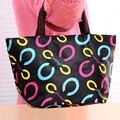 Nova Moda À Prova D' Água Viagem Picnic Lunch Bag Mulheres Tote Alimentos caixa de Armazenamento Caixa de Almoço Mais Frio Bolsa de Embreagem Bolsas de Ombro Feminino