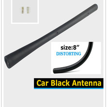 """For Acura Models Car Black 8"""" 20cm Antenna Finishing Awesome 5mm 6mm Screw-in Replacement kit"""
