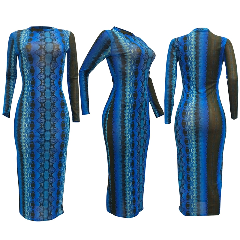 snake print dress -33