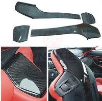 Carbon Fiber seat back Cover fit for BMW F82 M4 F80 M3 4PC/set