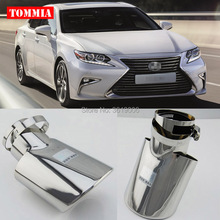 tommia High Quality T304 Stainless Steel Exhaust Muffler Tip For LEXUS ES200 2015 ES250 CT200H 2012-2015 ES300H 2013-2014
