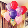 100PCS 10inch 1.2G Latex Air Balloon Helium Pearl Balloons Wedding Globos Party Birthday Balls Classic Toys Christmas Gift Becky