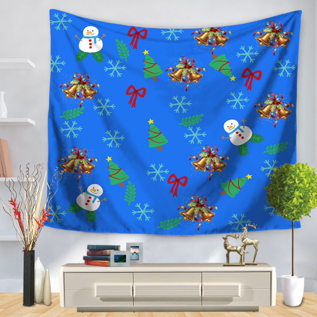 7 types New Beach Towel Santa Claus Wall Tapestry Home Decorations Wall Hanging Tapestries for Home decoration