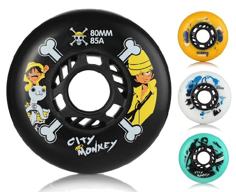 Prix pour 8 pcs skate patins livraison gratuite de haute qualité sport produit qualité roues 72mm 76mm 80mm 85a