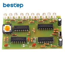 Human Body Reaction Speed Test Board Full Set of Parts Kit D