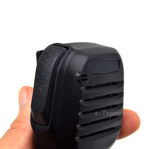 Image 3 - Pro omuz uzaktan hoparlör mikrofon Mic PTT Kenwood iki yönlü radyo için TK2402 TK3402 TK3312 TK2312 NX220 NX320 NX240 olarak KMC 45