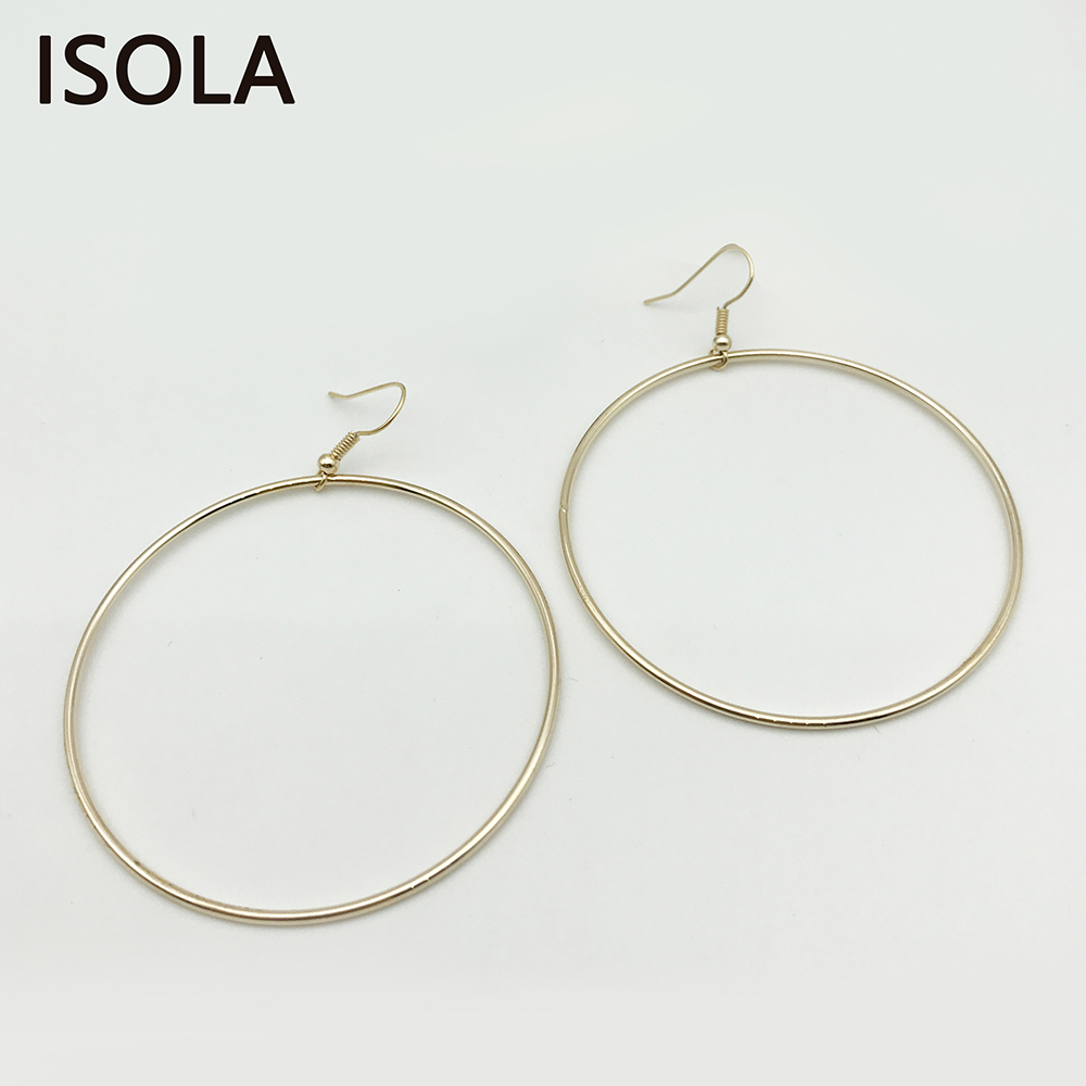 colors circular two elegant simple available round charming dangle but isola item circle in big from earrings statement jewelry drop stylish large