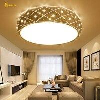 BIBOTE Acrylic Thick Modern Led Ceiling Chandelier Lights For Living Room Bedroom Dining Room Home Chandelier