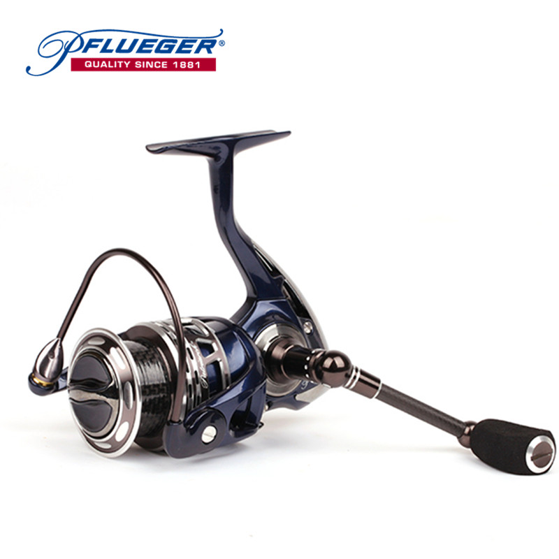 Pflueger PATRTACH Pre-Loading Spinning Reel 10BB 5.2 : 1 Left/Right Hand High Speed Fishing Tackle Accessories Pesca Angler Tool bobing acl30 50 left right hand baitcasting reel outdoor sports sea boat fishing reel 12bb with fishing line counter tackle tool