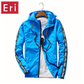 Jackets Men Brand Clothing UV High Quality New Dry Jacket Hooded Women Jacket Fashion Thin Windbreaker Couples Outwear 3XL X415