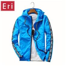 Jacken Männer Marke Kleidung UV Hohe Qualität Neue Trockene Jacke Mit Kapuze Frauen Jacke Mode Dünne Windjacke Paare Outwear 3XL X415