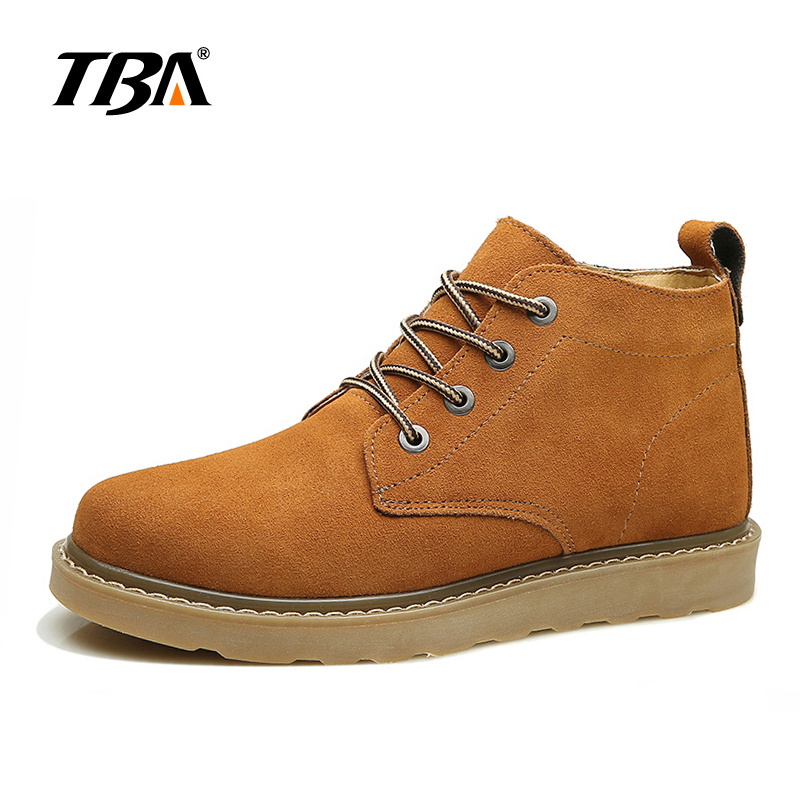 2017 TBA Men's shoes Hunting Mountain Shoes Lace-up suede leather Martin boots Breathable outdoor hiking shoes T5983 2017 tba men s shoes hunting mountain shoes lace up suede leather martin boots breathable outdoor hiking shoes t5983