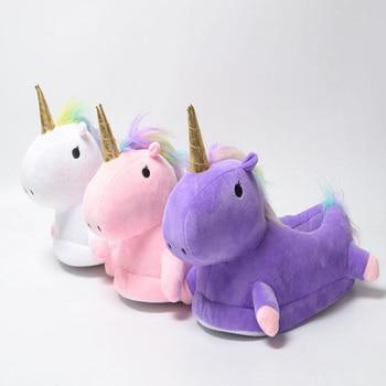 Led Light Unicorn Slippers