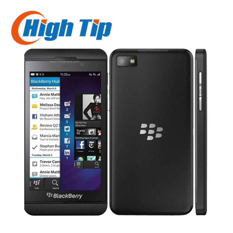 Unlocked Original Blackberry Z10 Dual core GPS Wi Fi 8 0MP 4 2 TouchScreen 2G RAM