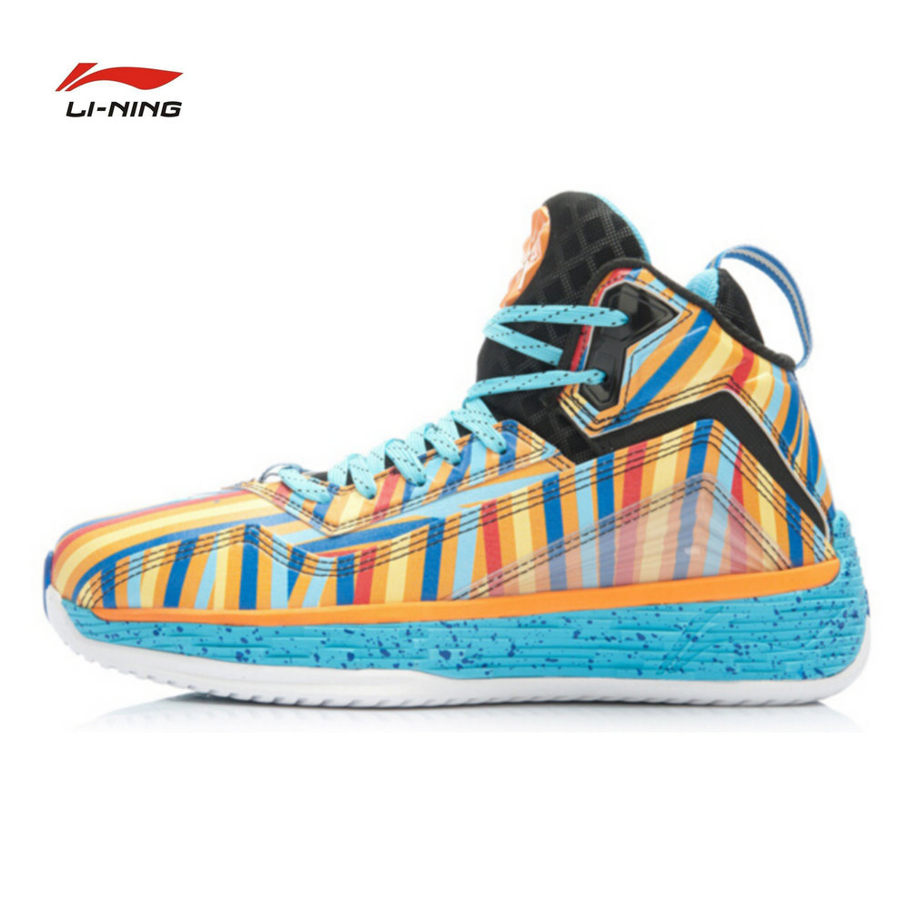 Li Ning new Wade Fission 2 Bounce basketball shoes Li-ning official men's basketball field sports shoes for men ABFK011 li ning men s fission iii wade professional basketball shoes lining cloud sneakers breathable sports shoes abam025 xyl109