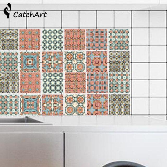 Online-Shop Retro Mosaik Fliesen Marokko Stil Wasserdichte ...
