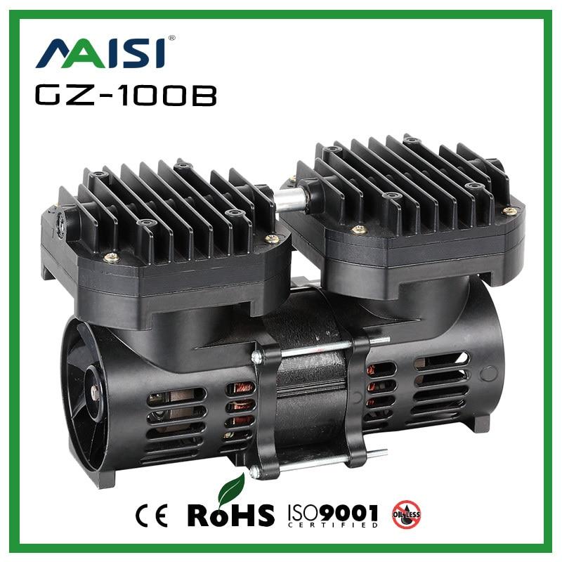 High Quality 100W 110V/220V 35L/min Diaphragm Pump High Pressure Electric Pump For Autoclave Micro Vacuum Water Pump Automati