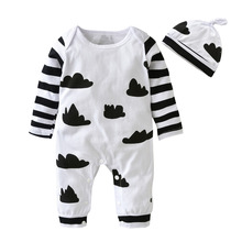 Long Sleeve Printing Children Jumpsuit